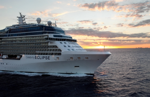 Aerial Celebrity EclipseCelebrity Eclipse - Celebrity Cruises