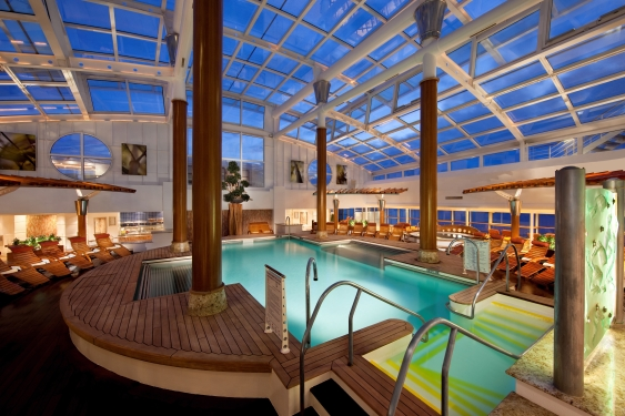 Solarium - Deck 10 ForwardCelebrity Infinity - Celebrity Cruises