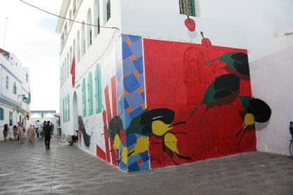 asilah's painted walls