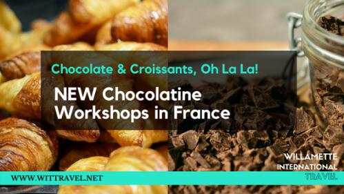 chocolate france croissant