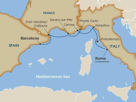 windstar cruises west med