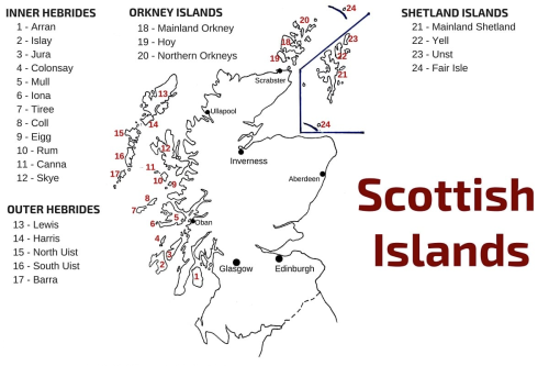 Scottish-islands-map-Scotland-isles