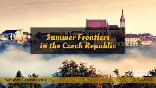 summer frontiers in teh czech