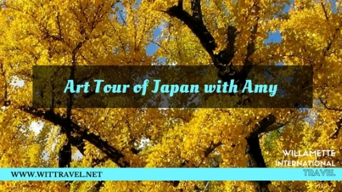 art tour of japan with amy