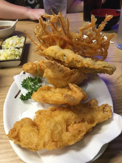 Tokyo Tei tempura